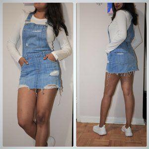 Light Blue Denim Rocky Skirt